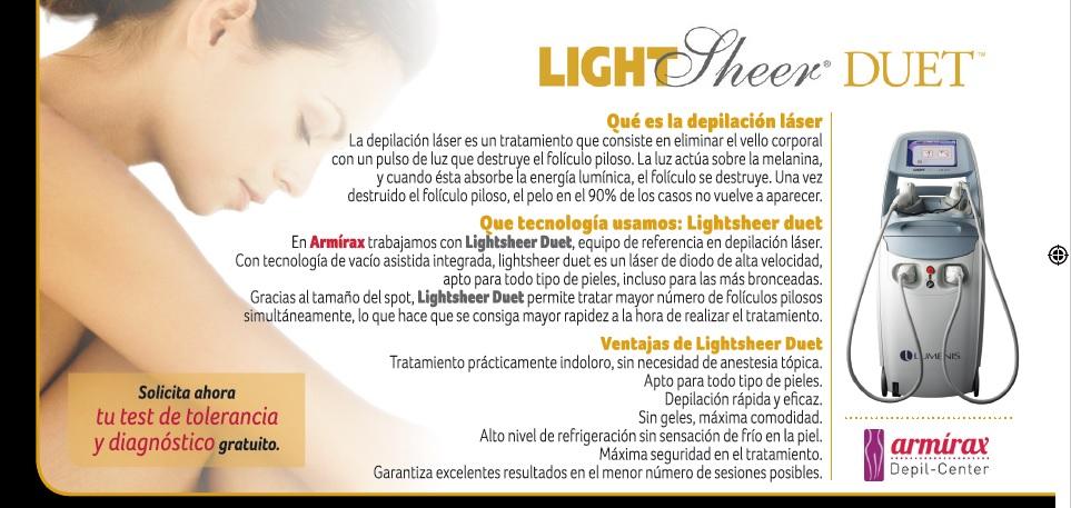 lightsheer duet precios